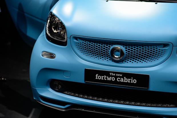 smart fortwo cabriolet: Frankfurt Auto Show featured image large thumb4