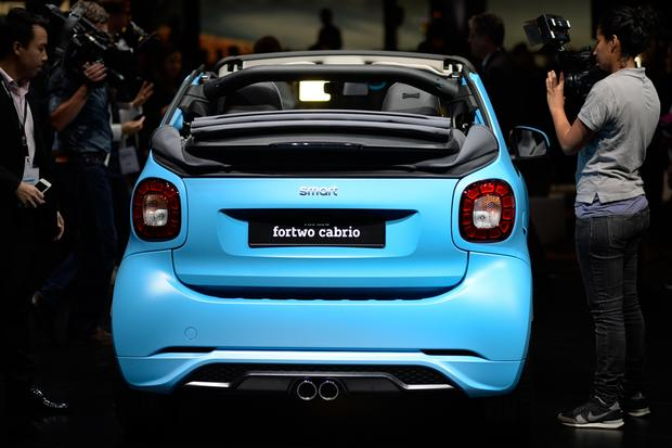 smart fortwo cabriolet: Frankfurt Auto Show featured image large thumb7