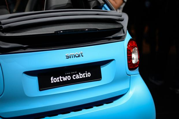 smart fortwo cabriolet: Frankfurt Auto Show featured image large thumb8