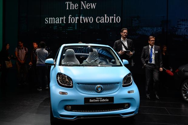 smart fortwo cabriolet: Frankfurt Auto Show featured image large thumb0