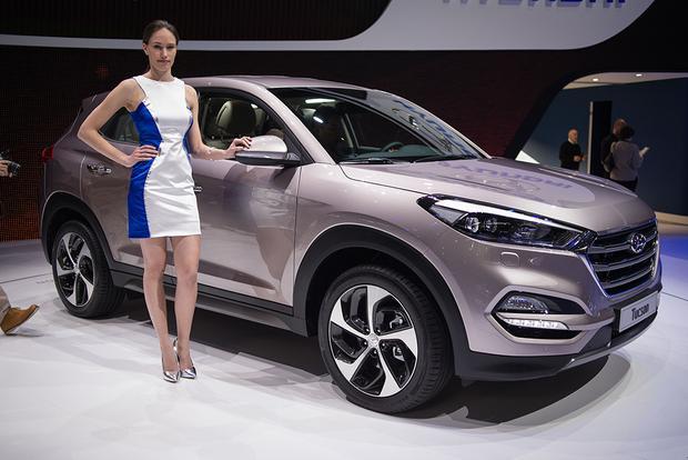 2016 Hyundai Tucson Geneva Auto Show