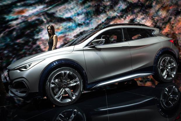 Infiniti Qx30 Concept Geneva Auto Show Autotrader