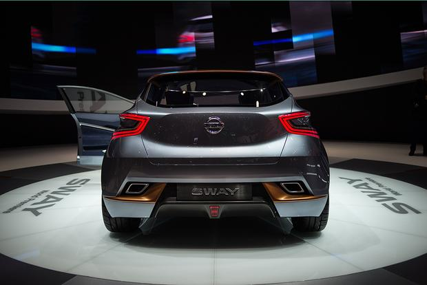 Nissan Sway Concept: Geneva Auto Show featured image large thumb2