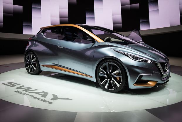 Nissan Sway Concept: Geneva Auto Show featured image large thumb0