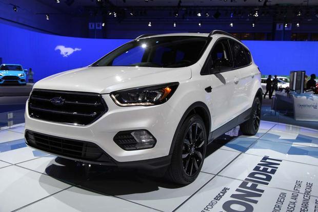 2017 Ford Escape: LA Auto Show