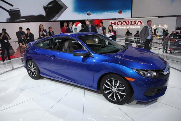 2016 Honda Civic Coupe: LA Auto Show - Autotrader