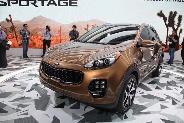 2017 Kia Sportage: LA Auto Show featured image large thumb0