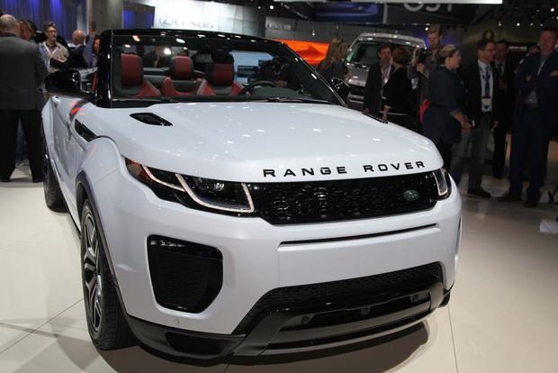 2016 Range Rover Evoque Convertible: LA Auto Show