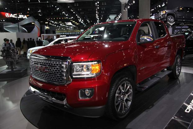 2017 Gmc Canyon Denali And 2016 Sierra Ultimate La Auto Show Featured Image
