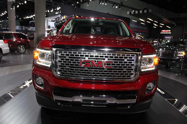 2017 GMC Canyon Denali and 2016 GMC Sierra Denali Ultimate: LA Auto Show featured image large thumb2