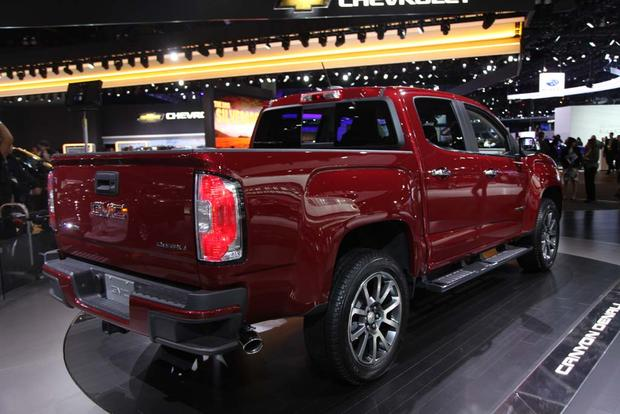 2017 GMC Canyon Denali and 2016 GMC Sierra Denali Ultimate: LA Auto Show featured image large thumb6