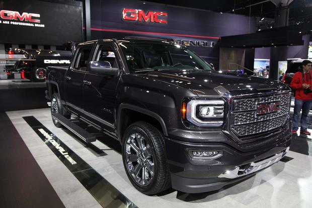 2017 GMC Canyon Denali and 2016 GMC Sierra Denali Ultimate ...