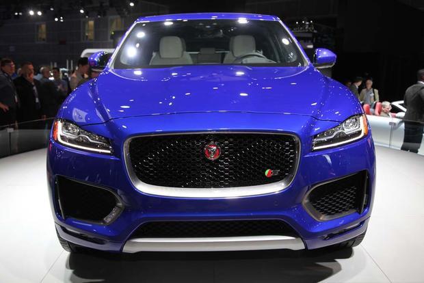 2017 Jaguar F-PACE and XE: LA Auto Show
