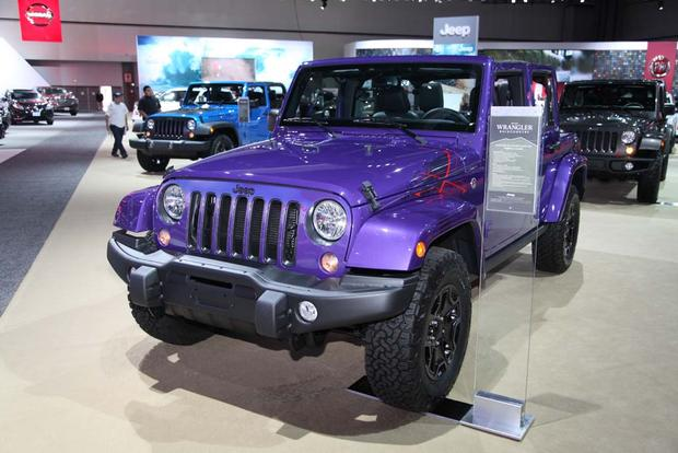 Jeep Wrangler Backcountry LA Auto Show Autotrader - Jeep car show near me