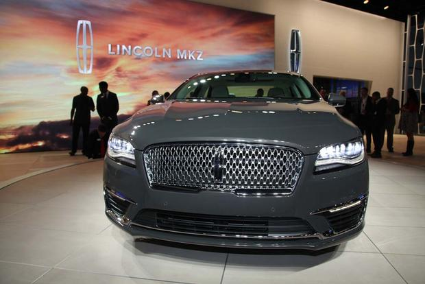 2017 Lincoln MKZ: LA Auto Show featured image large thumb8