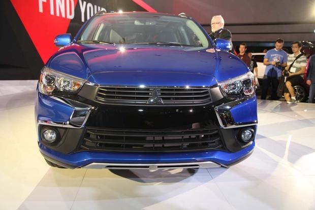 2017 Mitsubishi Mirage & 2016 Mitsubishi Outlander Sport: LA Auto Show