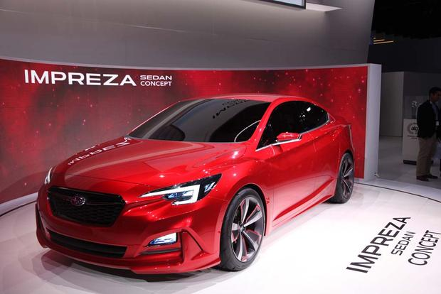 Subaru Impreza Sedan Concept: LA Auto Show