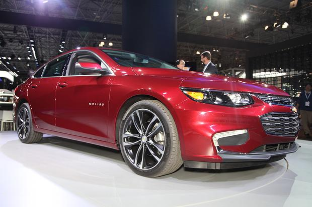 2016 Chevrolet Malibu: New York Auto Show featured image large thumb2
