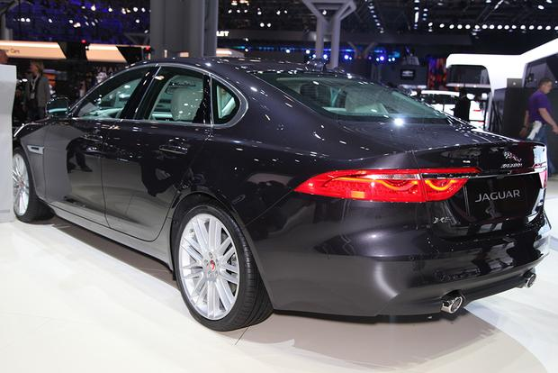 2016 Jaguar XF: New York Auto Show featured image large thumb1
