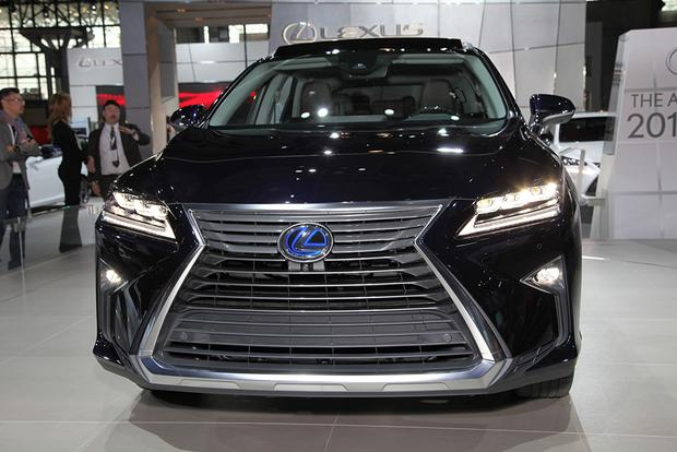 2016 Lexus RX: New York Auto Show featured image large thumb5