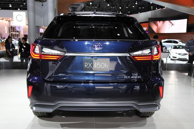 2016 Lexus RX: New York Auto Show featured image large thumb7