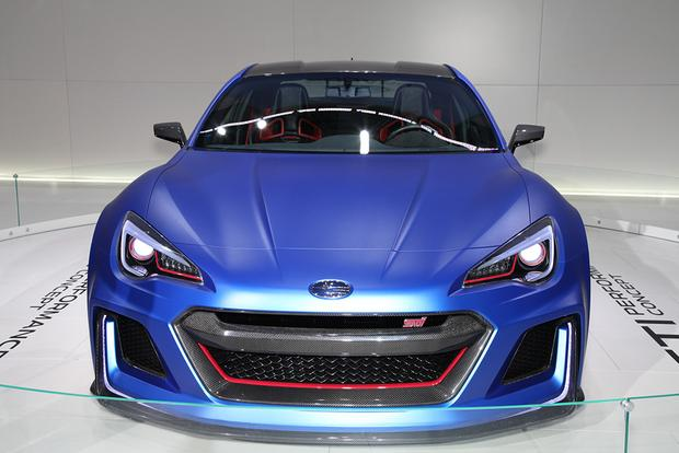 Subaru STI Performance Concept: New York Auto Show