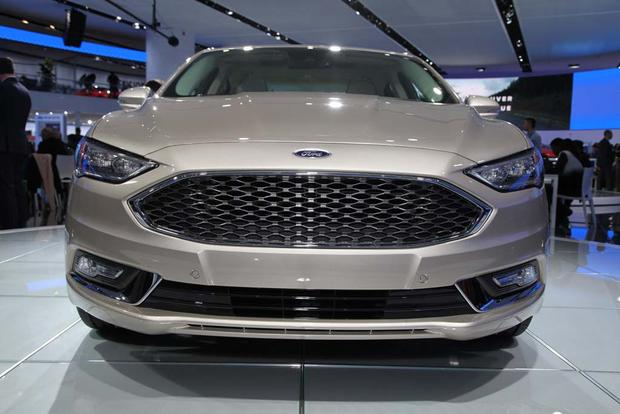 2017 Ford Fusion: Detroit Auto Show featured image large thumb1