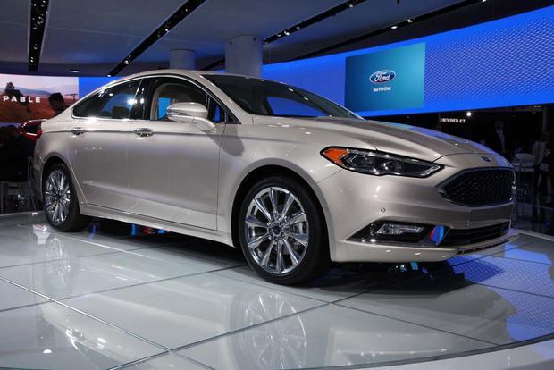 2017 Ford Fusion: Detroit Auto Show