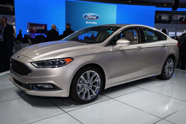 2017 Ford Fusion: Detroit Auto Show featured image large thumb7