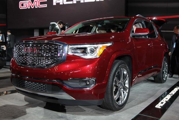 2017 GMC Acadia: Detroit Auto Show