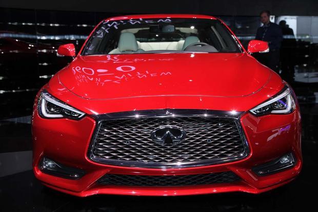 2017 Infiniti Q60 Coupe: Detroit Auto Show