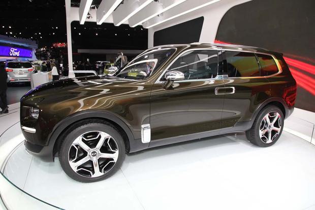 Kia Telluride Concept Detroit Auto Show Autotrader