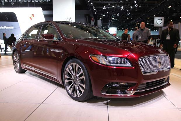2017 Lincoln Continental: Detroit Auto Show