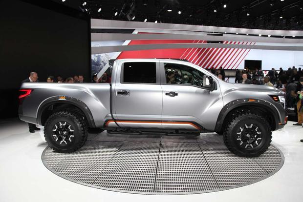 nissan titan warrior concept detroit auto show autotrader. Black Bedroom Furniture Sets. Home Design Ideas