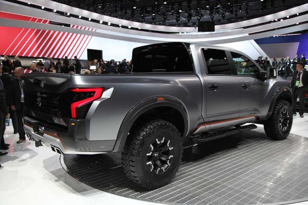 Nissan Titan Warrior Concept: Detroit Auto Show featured image large thumb2