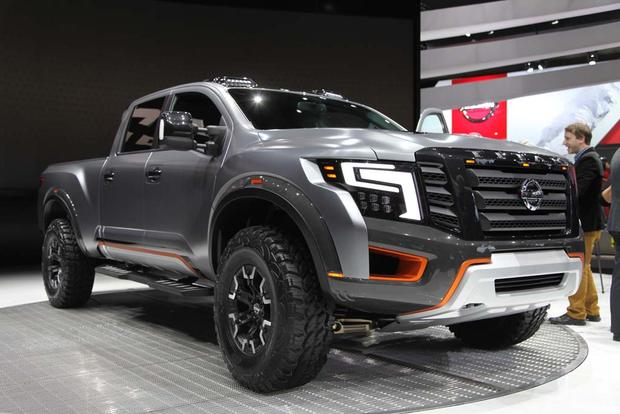 Nissan Titan Warrior Concept: Detroit Auto Show featured image large thumb0