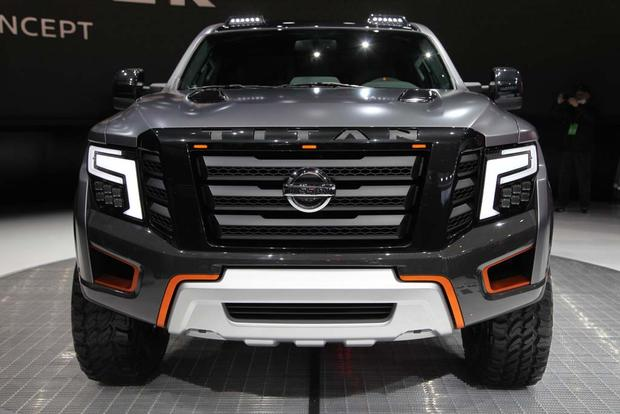 Nissan Titan Warrior Concept: Detroit Auto Show featured image large thumb9