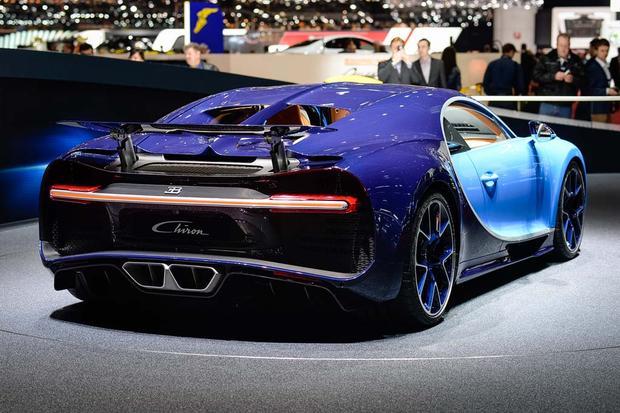 2017 Bugatti Chiron Geneva Auto Show Autotrader