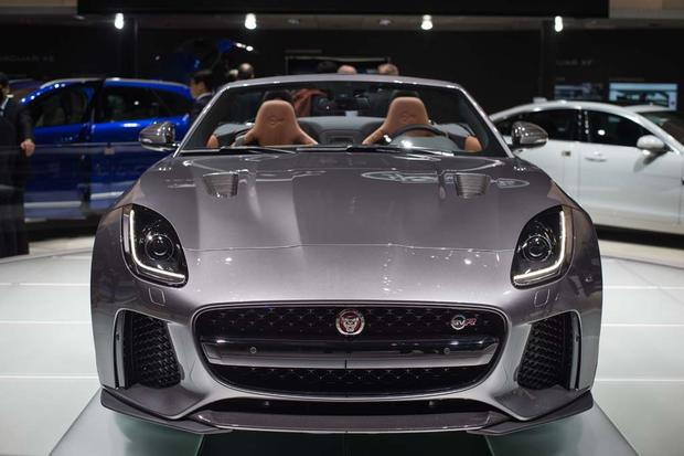 Superior 2017 Jaguar F TYPE SVR: Geneva Auto Show Featured Image Large Thumb0