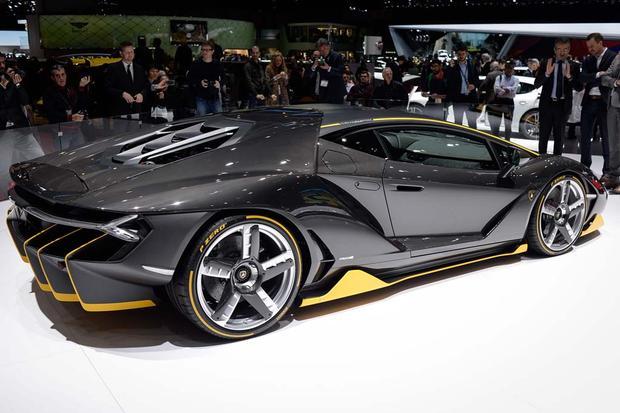 2017 Lamborghini Centenario Geneva Auto Show Autotrader