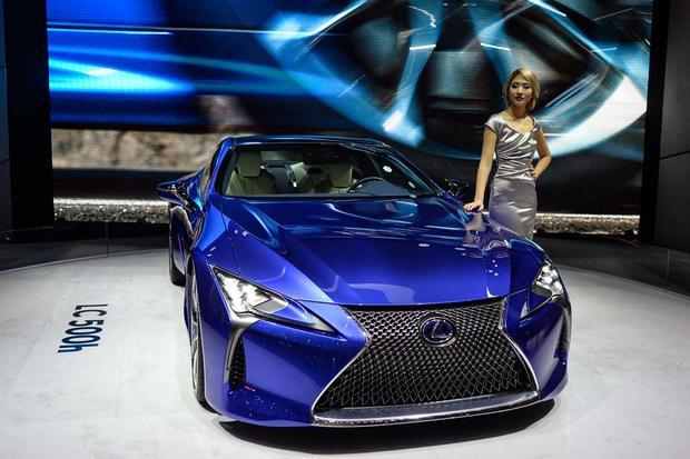 Lexus LC H Geneva Auto Show Autotrader - Lexus car show