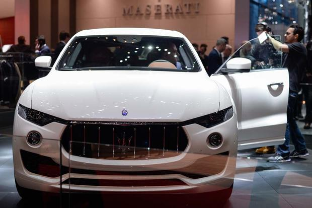 2017 Maserati Levante: Geneva Auto Show featured image large thumb2