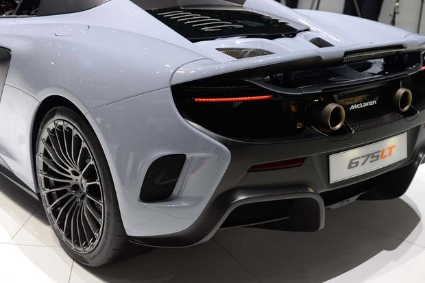 2016 McLaren 675LT Spider and P1 Carbon Fiber: Geneva Auto Show featured image large thumb8