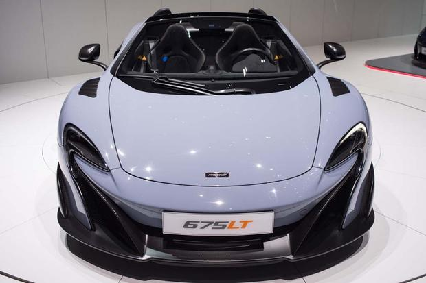2016 McLaren 675LT Spider and P1 Carbon Fiber: Geneva Auto Show featured image large thumb1