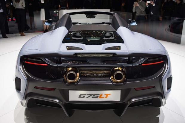 2016 McLaren 675LT Spider and P1 Carbon Fiber: Geneva Auto Show featured image large thumb6