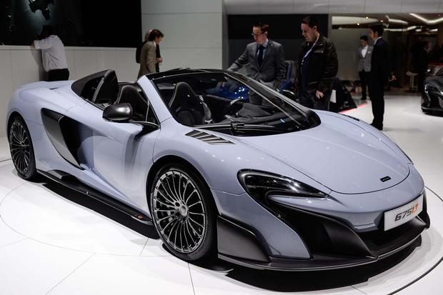2016 McLaren 675LT Spider and P1 Carbon Fiber: Geneva Auto Show featured image large thumb0
