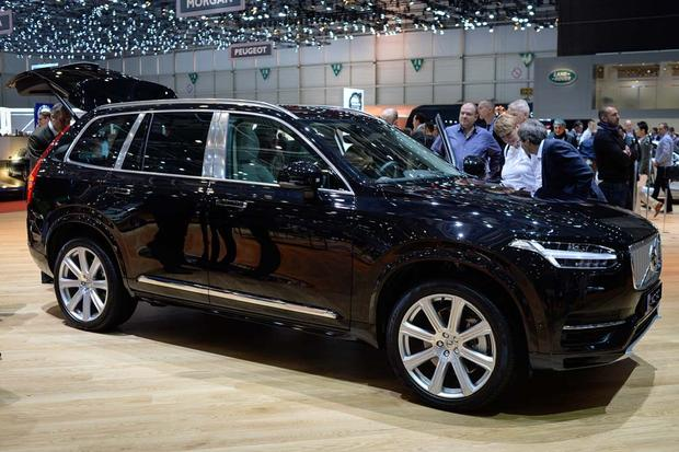 2017 Volvo V90: Geneva Auto Show featured image large thumb8