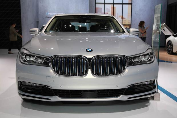 2017 BMW 740e xDrive iPerformance: LA Auto Show