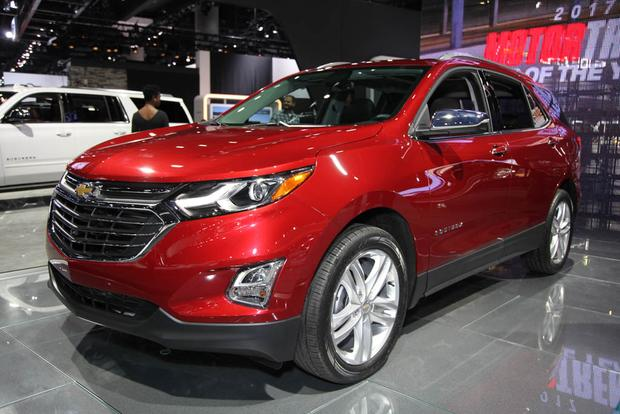 2018 Chevrolet Equinox and 2017 Chevrolet Colorado ZR2: LA Auto Show