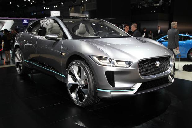Jaguar I-PACE Concept: LA Auto Show
